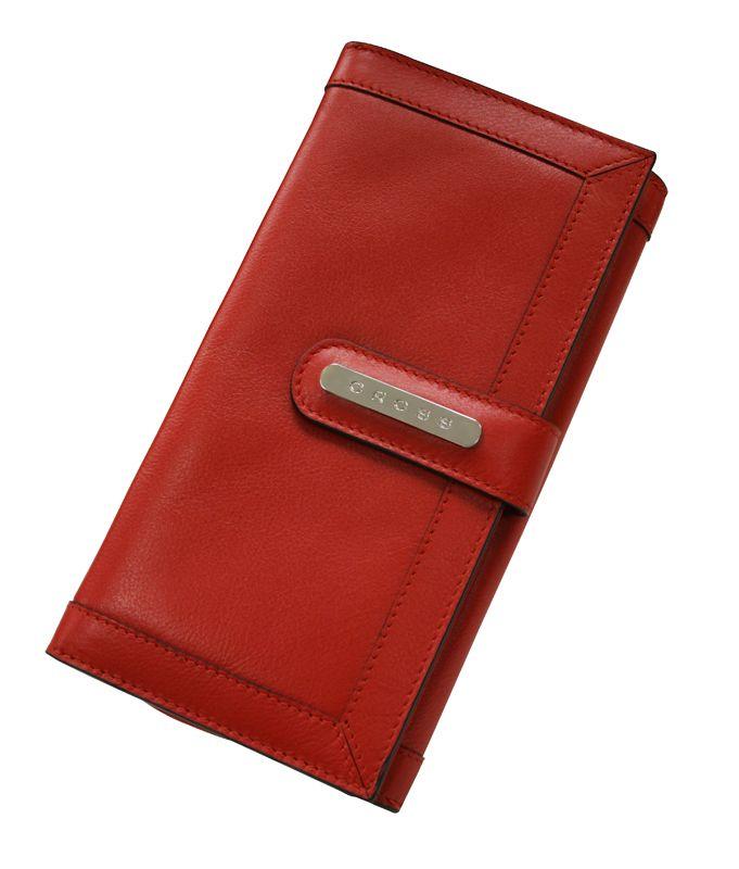 Клатч-кошелек Cross Color Time, цвет красный
