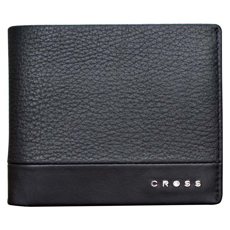 Кошелек Cross Nueva FV, 10,5х8х1,5 см, цвет чёрный
