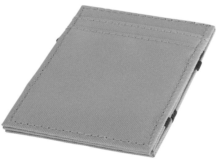 """Бумажник """"Adventurer"""" с защитой от сканирования (RFID), серый"""