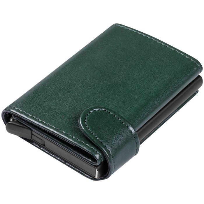 Портмоне Dandy с защитой от сканирования (RFID), зелёное
