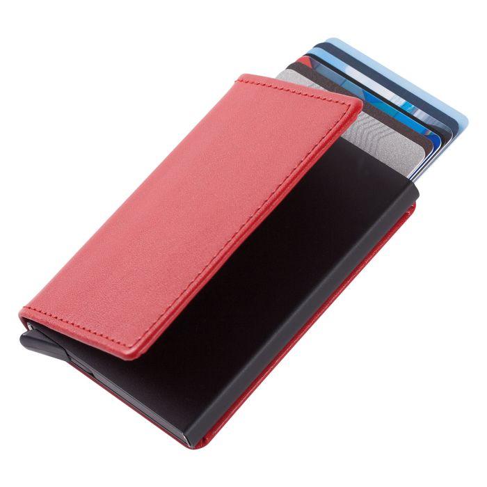 Футляр для кредитных карт Stroll с защитой от сканирования (RFID), красный