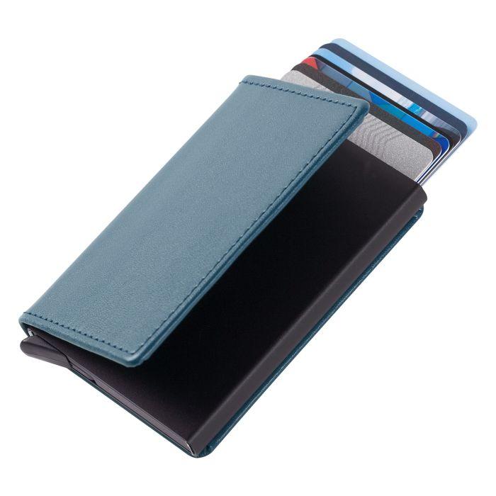Футляр для кредитных карт Stroll с защитой от сканирования (RFID), синий