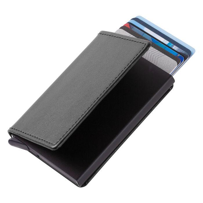 Футляр для кредитных карт Stroll с защитой от сканирования (RFID), чёрный