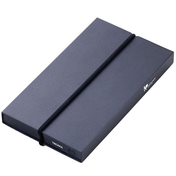 Футляр для карт Ten с защитой от сканирования (RFID), чёрный