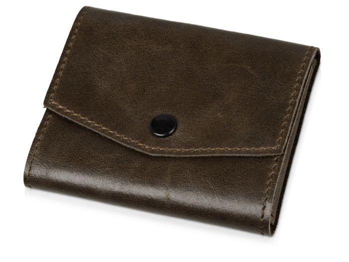 """Чехол для кредитных карт и банкнот """"Druid"""", коричневый"""