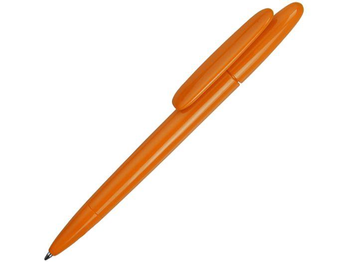 Ручка шариковая Prodir, модель DS5 TPP, со съёмной накладкой на клип, цвет оранжевый