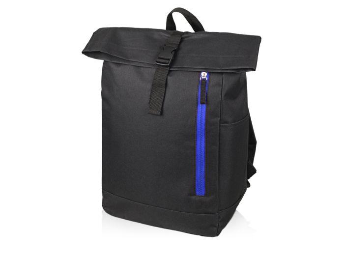 """Рюкзак-мешок """"Hisack"""", цвет чёрный с синим"""