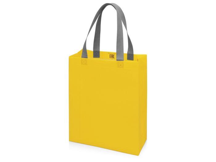 Сумка для шопинга Utility ламинированная, желтый матовый
