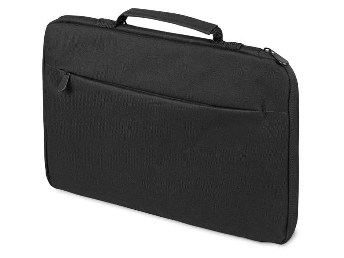 Сумка для ноутбука 13'' Flank с боковой молнией, Цвет черный