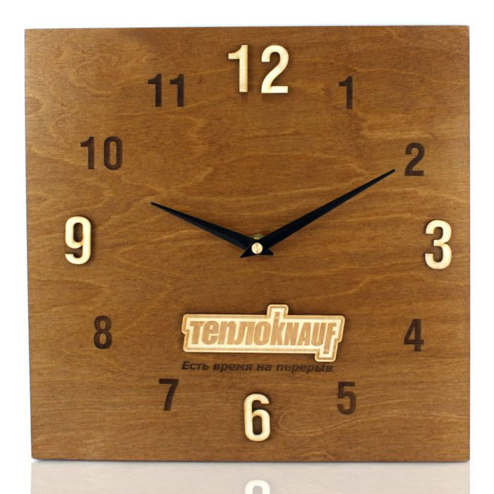 Часы из фанеры DS152 без характеристик