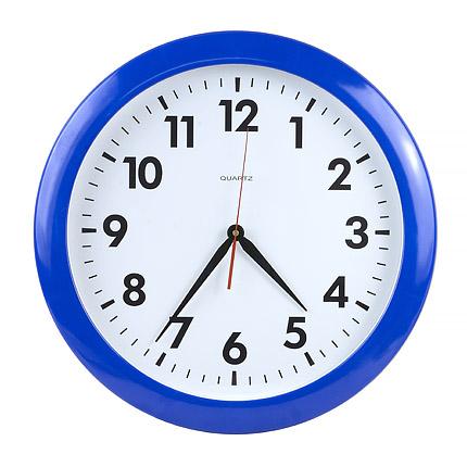 Часы настенные, модель 06, диаметр 500мм, стекло минеральное, кольцо пластик