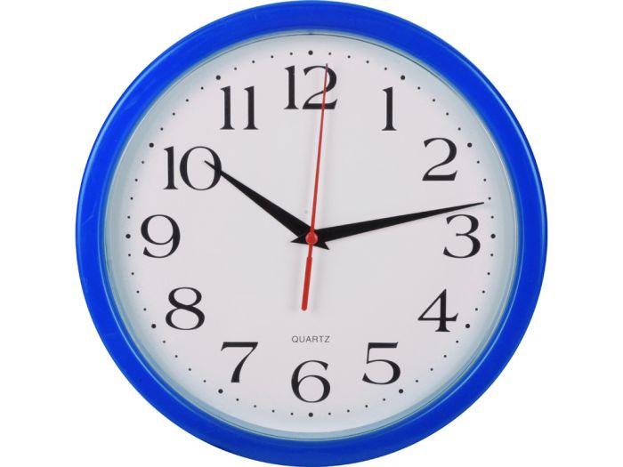 "Часы настенные ""Attendee"", цвет синий"
