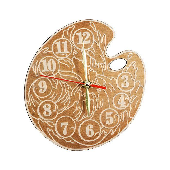 "Набор для раскрашивания: часы настенные ""Палитра"", вариант 2"