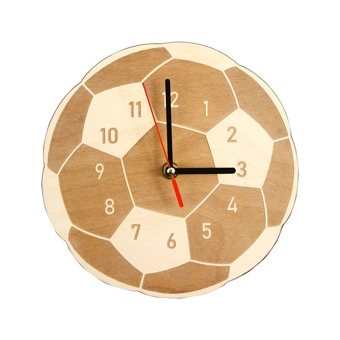 """Набор для раскрашивания: часы настенные """"Футбольный мяч"""""""
