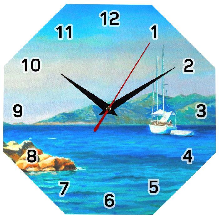 Часы настенные стеклянные Time Diamond