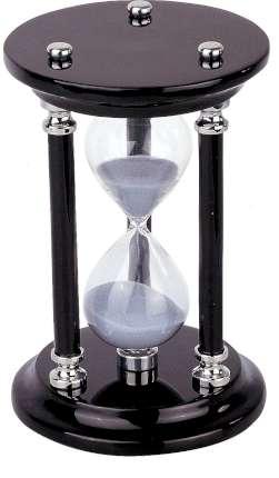 Часы песочные, Linea del Tempo, (цвет чёрный) (A9281B)