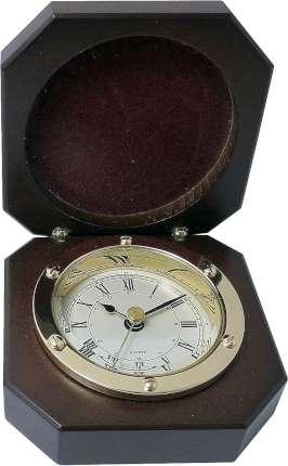 Часы в деревянной шкатулке, Sea Power, (CK272)