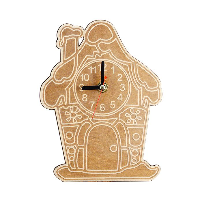 """Набор для раскрашивания: часы настенные """"Домик"""""""