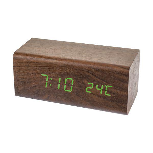 """Perfeo LED часы-будильник """"Block"""", PF-S718T время, температура (PF_A4198)"""