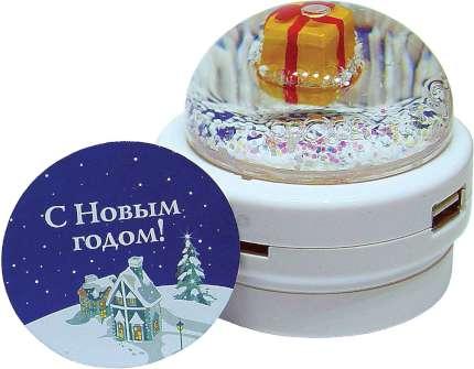 """USB разветвитель """"Mister Christmas"""" c картридером"""