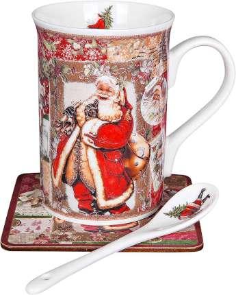 """Чайный набор """"Санта"""" в подарочной коробке (большой)"""