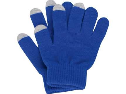 """Перчатки для сенсорного экрана """"Сет"""", цвет синий, размер S/M"""