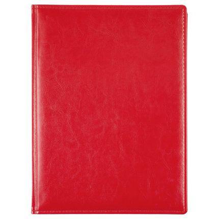 Еженедельник датированный Nebraska, формат A4, цвет красный