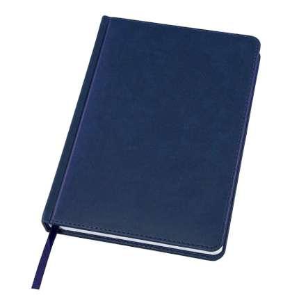 Ежедневник датированный Bliss, А5, синий, белый блок, без обреза