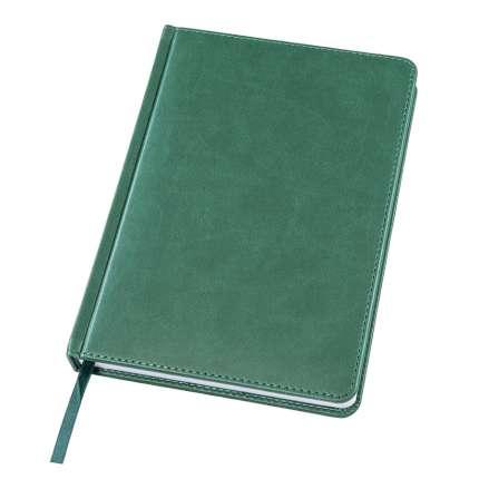 Ежедневник датированный Bliss, А5, тёмно-зелёный, белый блок, без обреза