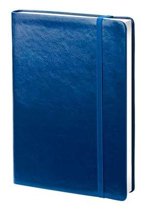 Ежедневник датированный Elegance (бренд InFolio), формат А5, переплёт твёрдый с резинкой, цвет синий