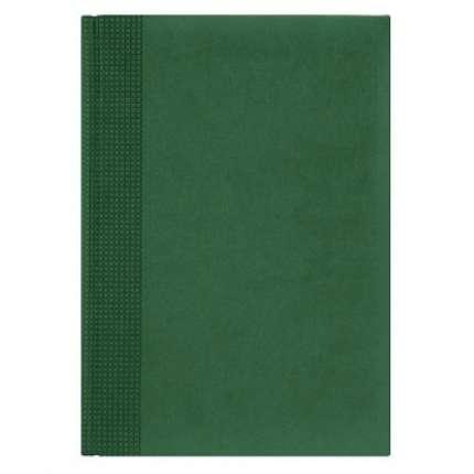 Ежедневник NG датированный VELVET 5450 (650), 145x205 мм, зелёный, белый блок