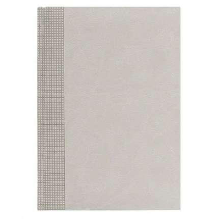 Ежедневник NG датированный VELVET 5450 (650), 145x205 мм, бежевый, белый блок