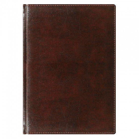 Ежедневник NG датированный Madrid 5459 (650) 145x205 мм, коричневый, кремовый блок, золотой срез