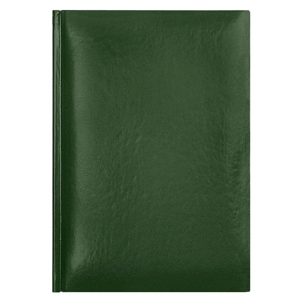 Ежедневник датированный Portobello классический, коллекция Manchester 5463, формат A5, цвет зелёный, белый блок