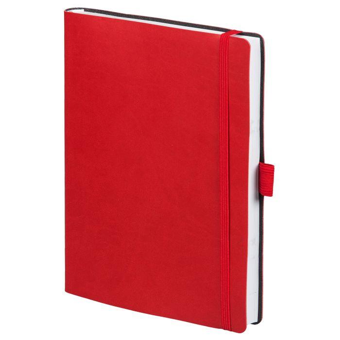Ежедневник датированный Flex Brand, формат A5, красный
