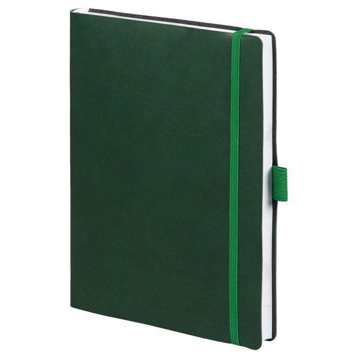 Ежедневник датированный Flex Brand, формат A5, зелёный