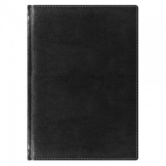 Ежедневник NG датированный Madrid 5450 (650) 145x205 мм, чёрный, кремовый блок, золотой срез