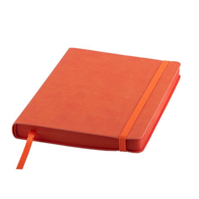 """Ежедневник датированный бренд """"Enote"""", коллекция """"Shady"""", А5, кремовый блок, оранжевый обрез, оранжевый"""