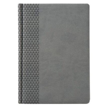 Ежедневник недатированный, материал BRAND,  размер 15х21 см (формат A5), цвет серый