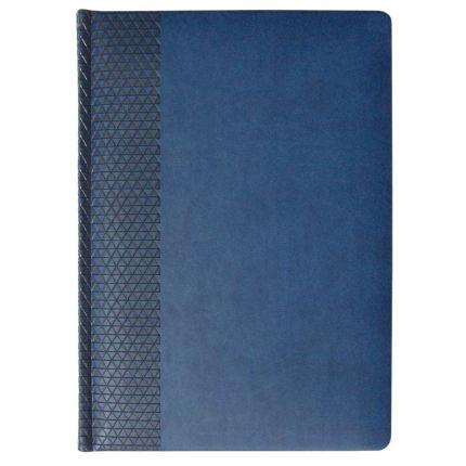 Ежедневник недатированный Brand, размер 15х21 см (формат A5), цвет синий