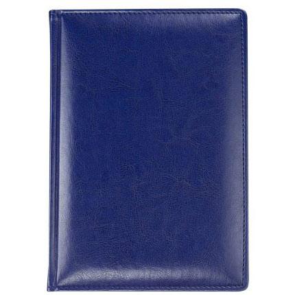 Ежедневник недатированный Nebraska, размер 15х21 см (формат A5), цвет синий