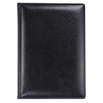 Ежедневник недатированный Nebraska, размер 15х21 см (формат A5), цвет черный
