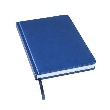 Ежедневник недатированный Bliss, А5, тёмно-синий, белый блок, без обреза