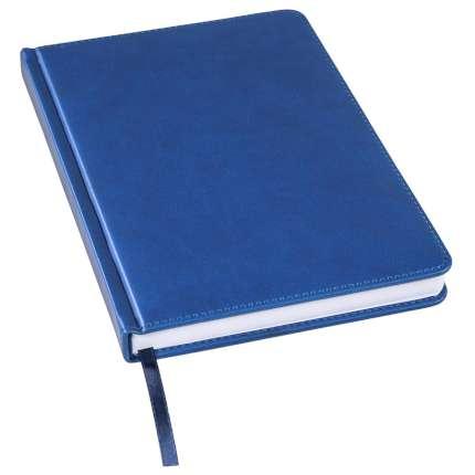 Ежедневник недатированный Bliss, А5, синий, белый блок, без обреза