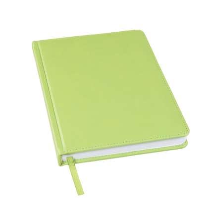 Ежедневник недатированный Bliss, А5, оливковый, белый блок, без обреза
