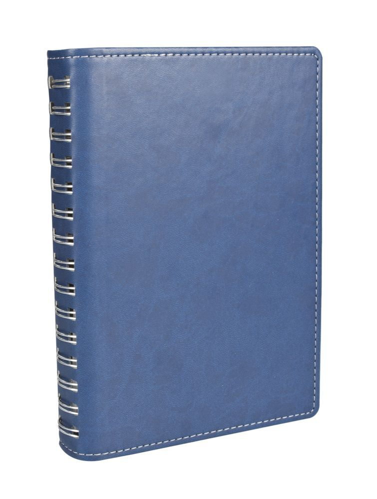 Ежедневник Semi, недатированный, формат A5, синий