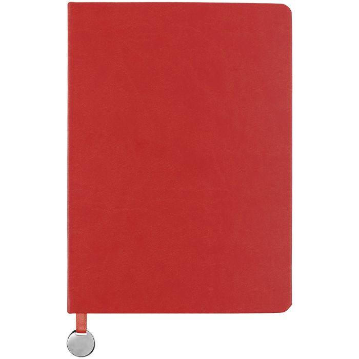 Ежедневник недатированный Exact, формат A5, красный