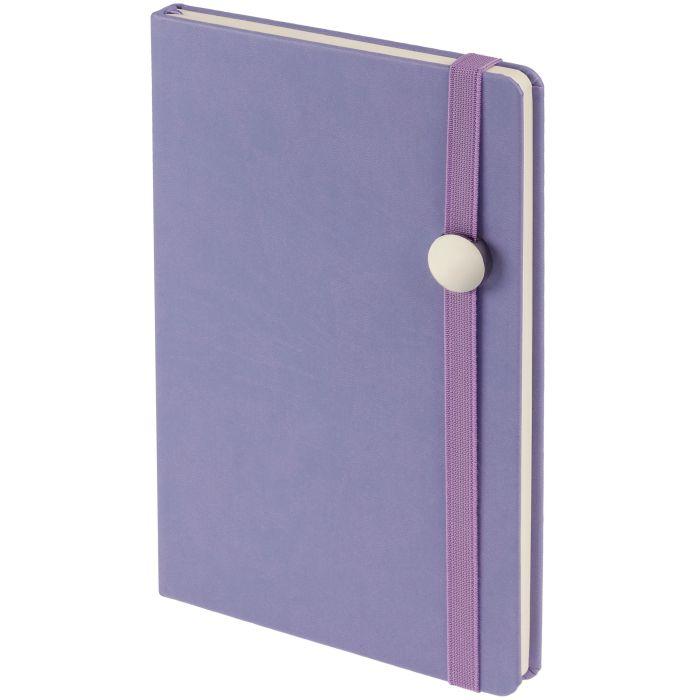 Ежедневник недатированный Coach, формат A5, фиолетовый