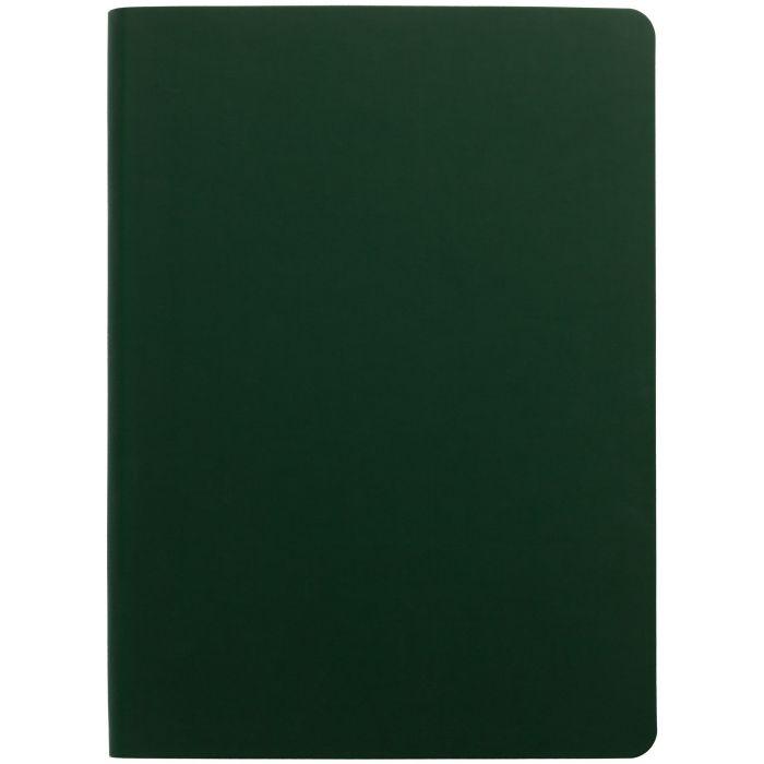 Ежедневник недатированный Flex Shall, размер 15х21 см (формат A5), цвет зелёный