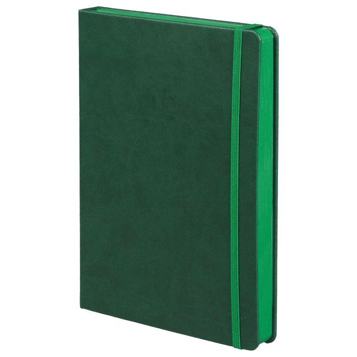 Ежедневник недатированный Factor, размер 15х21 см (формат A5), цвет зелёный